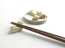 FUTAGAMI(フタガミ)の真鍮の箸置き