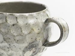 工房火々のマグカップ(黄粉引)陶芸家:薮本寛之