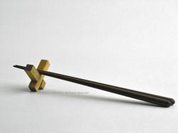 カコイプロダクツの天然木の箸置き5個セット