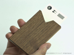 kakoiproducts(カコイプロダクツ)の木製名刺入れ