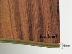 カコイプロダクツの天然木のクリップボード拡大