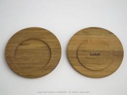 カコイプロダクツの天然木のクリップボード