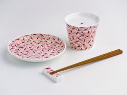 NIKKO/小紋あそび 蕎麦猪口 唐辛子