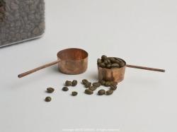 銅製コーヒーメジャースプーン