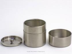 ステンレス茶筒の詳細